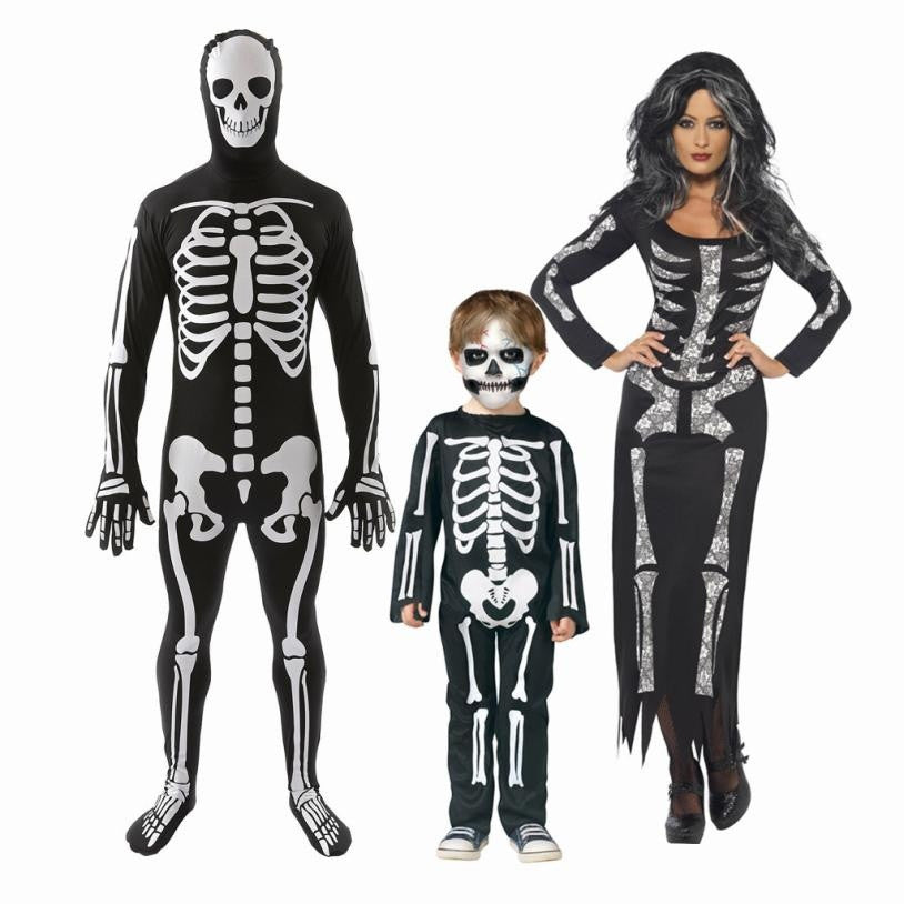 Halloween Matching Skeleton Outfits