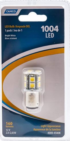 LED Replacement Bulb (1004 BA15D)