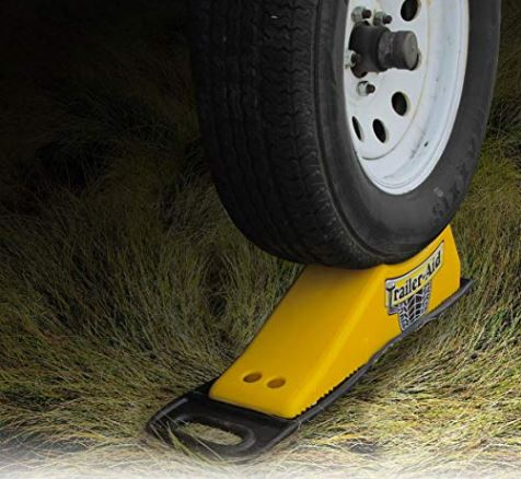 Camco Non Base Pad Prevents Your Trailer-Aid from Slipping-Rubber Construction