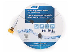"Load image into Gallery viewer, Camco TastePURE Drinking Water Hose - 50 ft. 1/2"" ID"