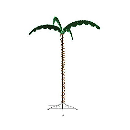 7' LED Palm Tree