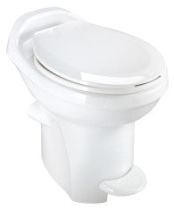 THETFORD Aqua Magic Residence Hand Flush- WHITE