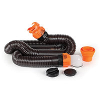 RhinoFLEX 15' Sewer Hose Kit w / 4N1,Elbow