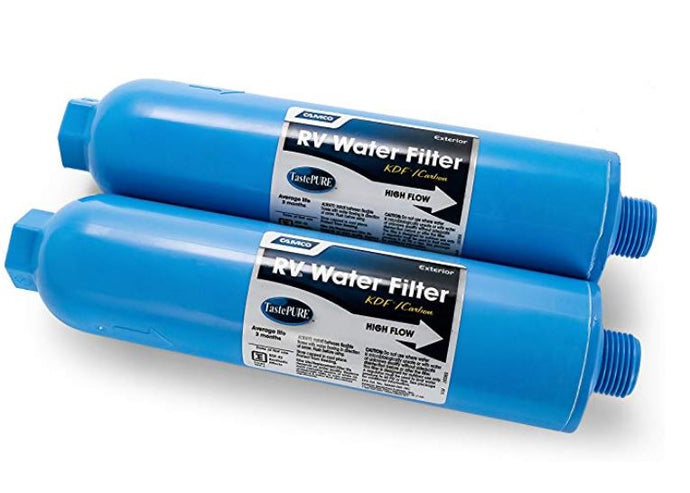 TastePURE Inline RV Water Filter 2-PACK