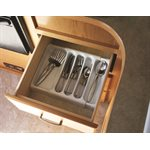 Load image into Gallery viewer, Adjustable Cutlery Tray, White