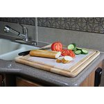 "Stove Topper & Cutting Board 19-1 / 2"" x 17"" x 3 / 4"""