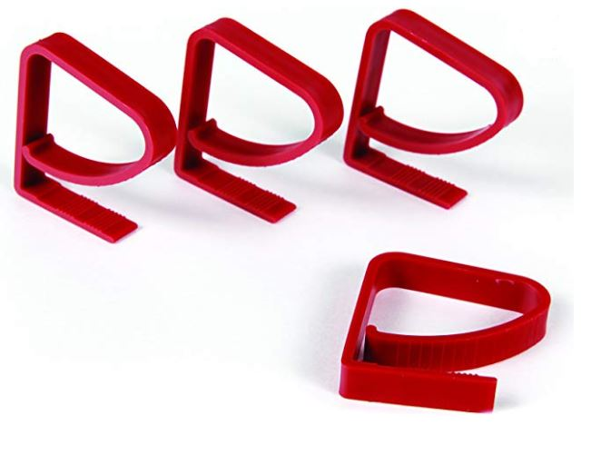 Plastic Tablecloth Clamps-4-Pack