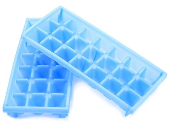 Stackable Miniature Ice Cube Tray for Mini Fridges