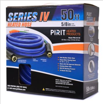 50FT PIRIT HEATED HOSE