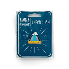 Load image into Gallery viewer, Life is Better at the Campsite Go Outsiding Enamel Pin