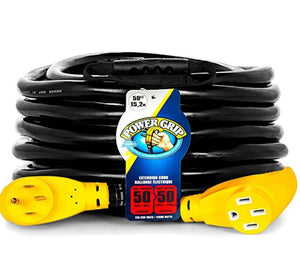 50' PowerGrip Heavy-Duty Outdoor 50-Amp Extension Cord