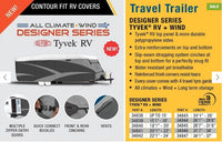 "ADCO COVER TYVEK TRAVEL TRAILER 20' 1""-22"" ALL WEATHER"