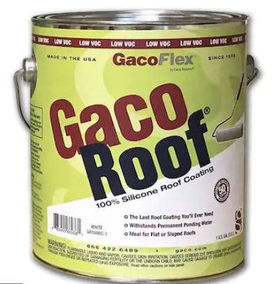 GACO ROOF COATING WHT 1GAL