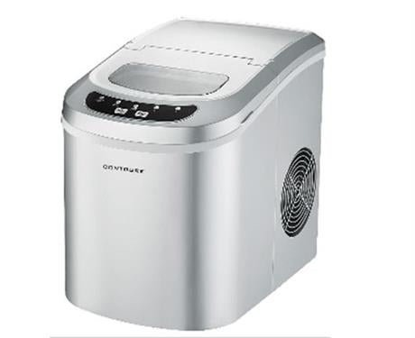Contoure Ice Maker- Silver