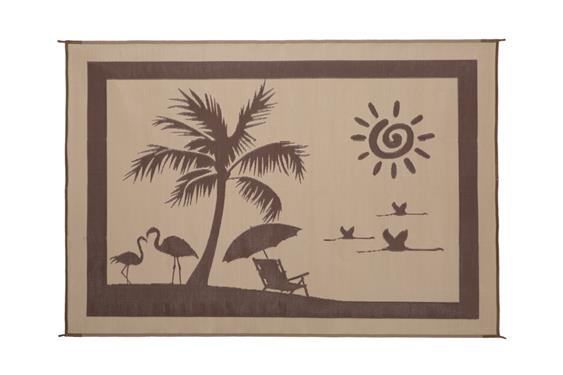 Ming's Mark Patio Mat- At the Beach 8' X 11'