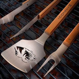 MU Tigers 3-Piece BBQ Set
