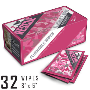 2 the Rescue Personal Hygiene Wipes [32 Count] - Women's