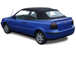 BV Series Top, VW 1995-00 Golf 3, Top Only, Cabrio, Black - rgvtex.com