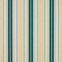 "Sunbrella 4932 - 46"" Forest Green/Beige/Natural Fancy Stripe"