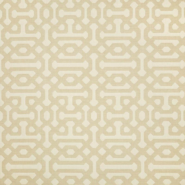 Sunbrella Elements FRETWORK-FLAX_45991-0001