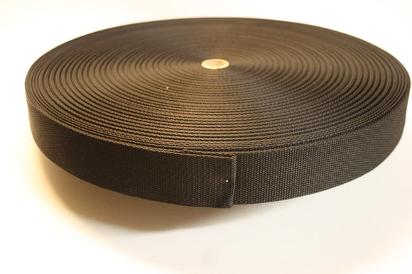Heavy Weight Polypropylene Webbing -roll or case