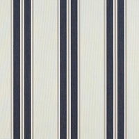 "Sunbrella 4916 - 46"" Navy/Taupe Fancy"