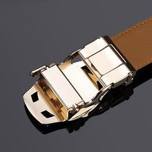 Prince William Polo Genuine Leather Automatic Buckle Strap Belts By: Victor Vanquish