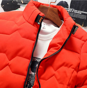Safe Shine Raw Down Jacket By: Victor Vanquish
