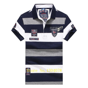 Tace & Shark Striped Yacht Club Men's Shirts By: Victor Vanquish