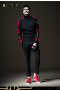 PINLI Colorado Stripes Wool Turtleneck By: Victor Vanquish