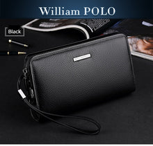 WILLIAM POLO Genuine Leather Men's Clutch Wallet By: Victor Vanquish