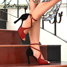 Ladingwu Latin Party Dance Shoes By: Vicki Vanquish