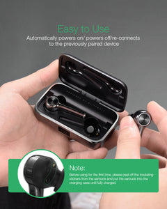 BlitzWolf Long Handle Bluetooth 5.0 Wireless Earphone By: Victor Vanquish