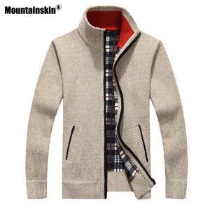 Mountainskin Men's Cardigan Sweaters By: Victor Vanquish