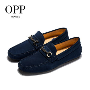 OPP Men's Leather Loafers Moccasins By: Victor Vanquish