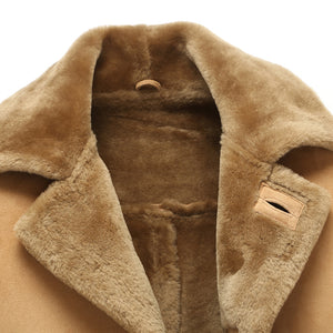 Denny&Dora Original Shearling Trench Coat By : Victor Vanquish