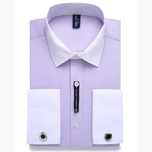 Alimens & Gentle French Cuff Dress Shirt By: Victor Vanquish