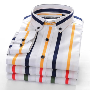 CAIZIYIJIA Multi Vertical Striped Shirts By: Victor Vanquish