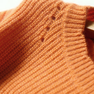 SHUCHAN Cashmere O-Neck Casual Sweater By: Victor Vanquish