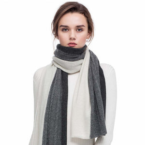 FINCATI 100% Pure Cashmere Scarf Wrap By: Vicki Vanquish