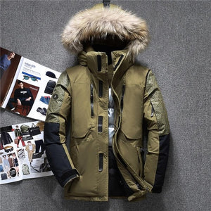 QUANBO Genuine Down Parkas By: Victor Vanquish