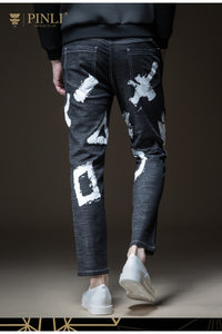 PINLI Graffiti Art Denim Jeans By: Victor Vanquish