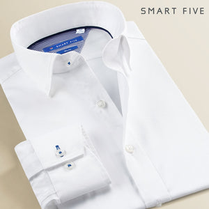 SMART FIVE 100% Cotton Formal Men Dress Shirts By: Victor Vanquish