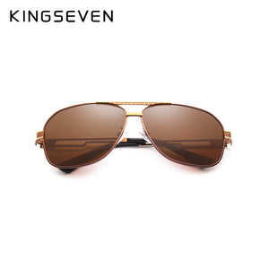 KING SEVEN Polarized Aviation Alloy Frame Sun Glasses By: Victor Vanquish