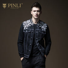 PINLI Paisley print Jeans Jacket By: Victor Vanquish