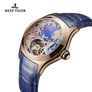 Reef Tiger/RT Paradise Blue Dial Mother Of Pearl By: Victor Vanquish