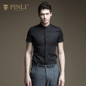 PINLI Bamboo Fiber Full Casual Shirts By: Victor Vanquish