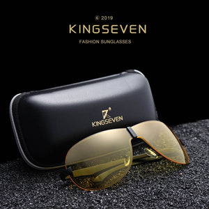 KING SEVEN Polarized Night Vision Sunglasses By: Victor Vanquish