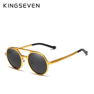 KING SEVEN Vintage Polarized Driving SunGlasses By: Victor Vanquish