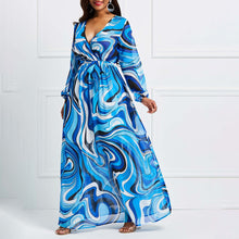 Vintacy African Swing Maxi Dress By: Vicki Vanquish